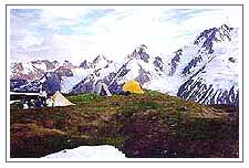 Camping in Remote Himachal