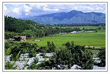 Imphal the capital city of Manipur