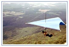 Hang Gliding in Himalaya Mountains