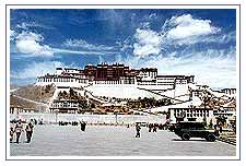 Capital City of Tibet - Lhasa